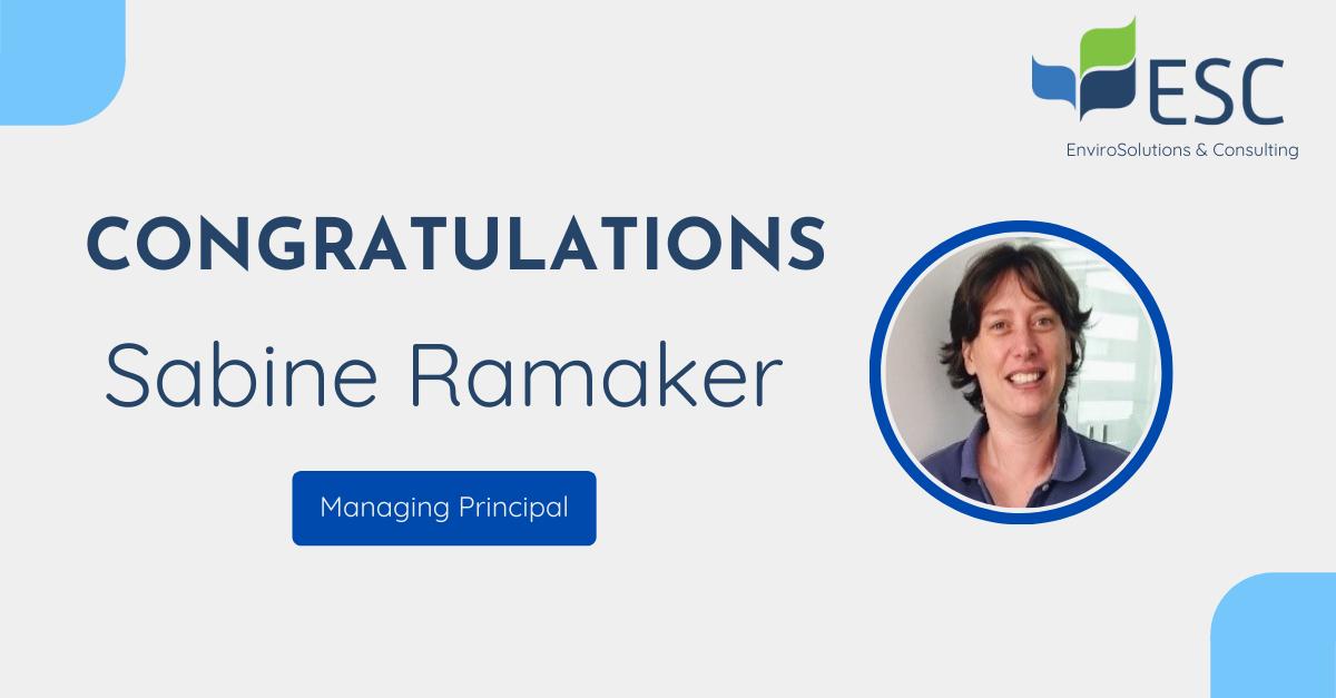 Sabine Ramaker appointed new Managing Principal for EHS & Risk Management